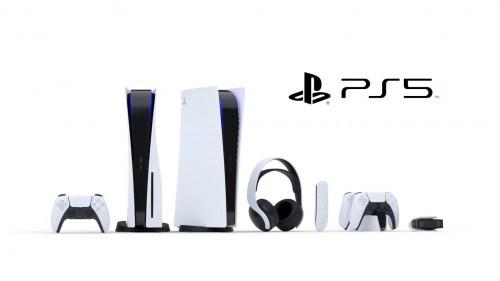 Wygląd PlayStation 5 oraz akcesoriów