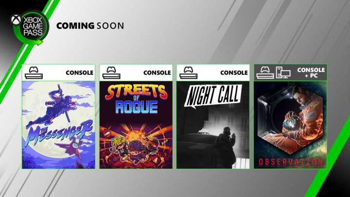 Xbox Game Pass druga połowa czerwca