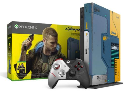 Promocja na Xbox One X Cyberpunk 2077 Limited Edition