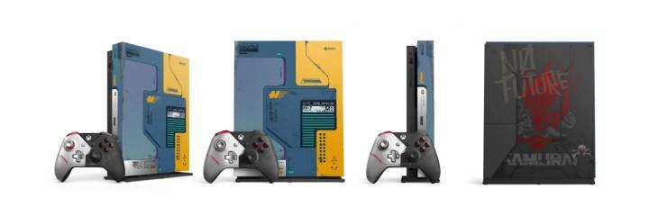 Edycja limitowana Xbox One X Cyberpunk 2077