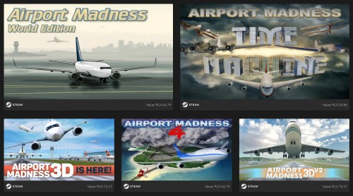 Promocja na Airport Madness Dollar Bundle