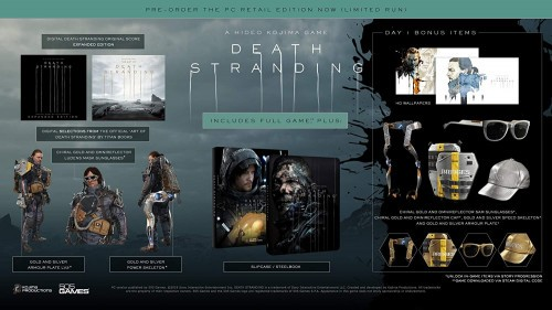 Preorder Death Stranding Day 1 Edition