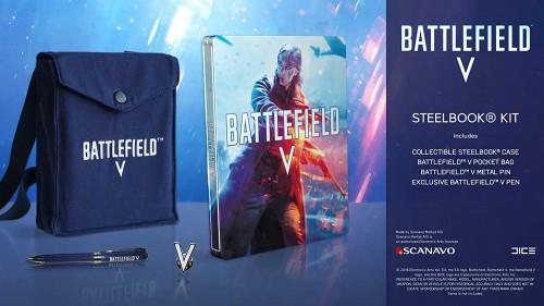 Promocja na Battlefield V Steelbook Kit