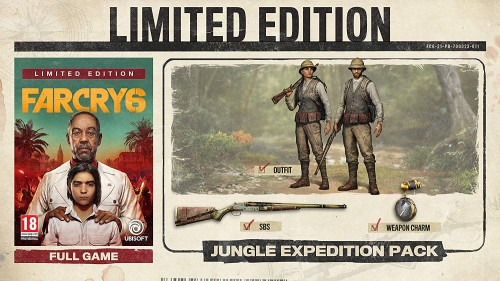 Promocja na Far Cry 6 Limited Edition