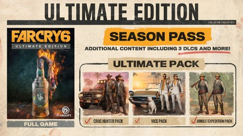 Promocja na Far Cry 6 Ultimate Edition