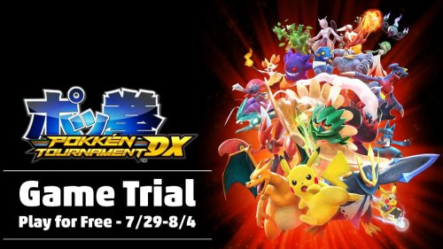 Pokken Tournament DX trial