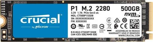Promocja na dysk SSD Crucial P1 500GB