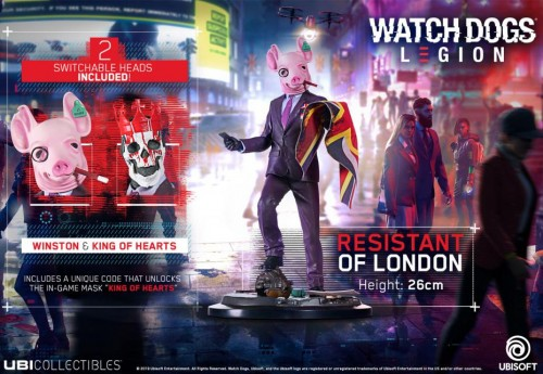 Promocja na Watch Dogs Legion - Resistant Of London