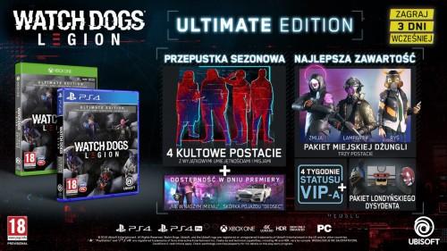 Promocja na Watch Dogs Legion – Edycja Ultimate