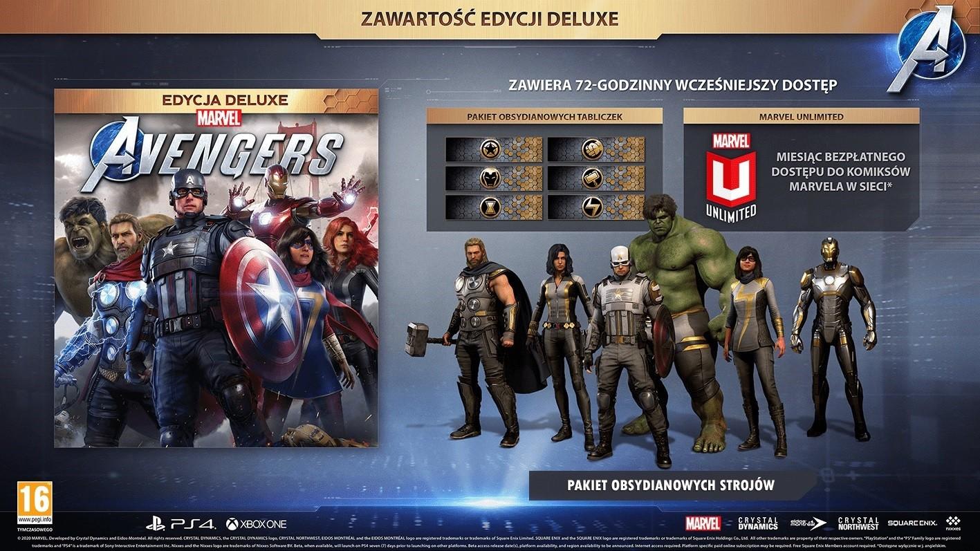 Promocje na Marvel's Avengers