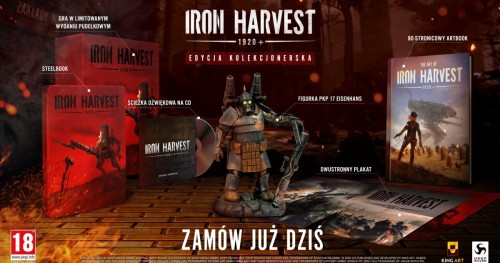 Promocja na Iron Harvest Edycja Kolekcjonerska