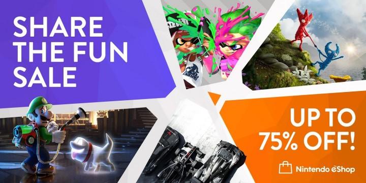 Promocja Share The Fun w Nintendo eShop