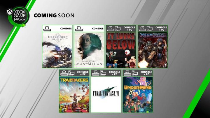 Oferta Xbox Game Pass na sierpień 2020