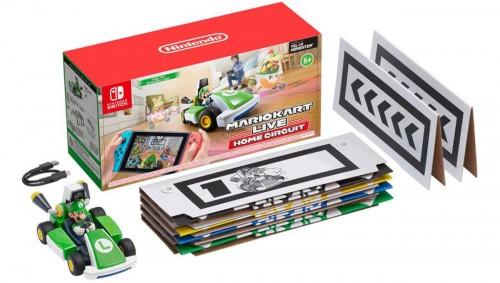 Promocja na Mario Kart Live Home Circuit - Luigi