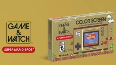 Promocja na Game & Watch Super Mario Bros.