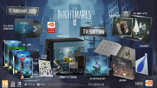 Promocja na Little Nightmares TV Edition