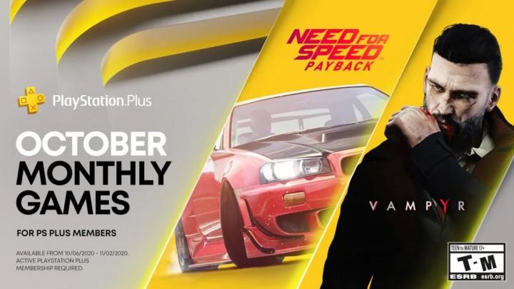 Październik 2020 w PlayStation Plus