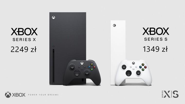 Cena Xbox Series X i Xbox Series S