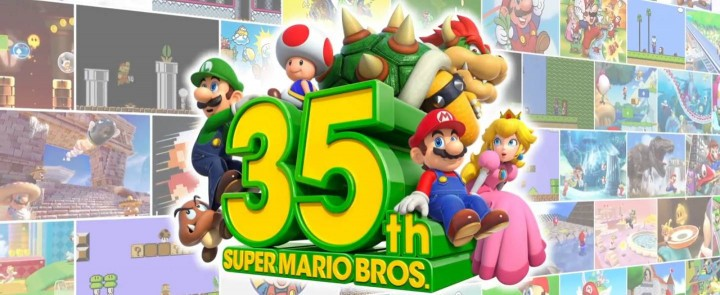 Super Mario - 35. urodziny - Nintendo Switch