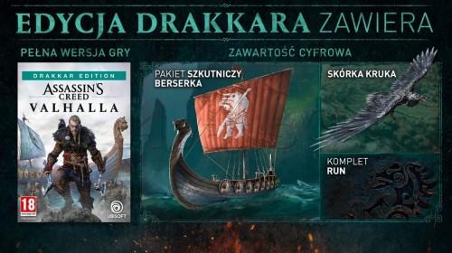 Promocja na Assassin's Creed Valhalla Edycja Drakkar