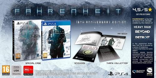 Promocja na Fahrenheit 15th Anniversary Edition (PS4)