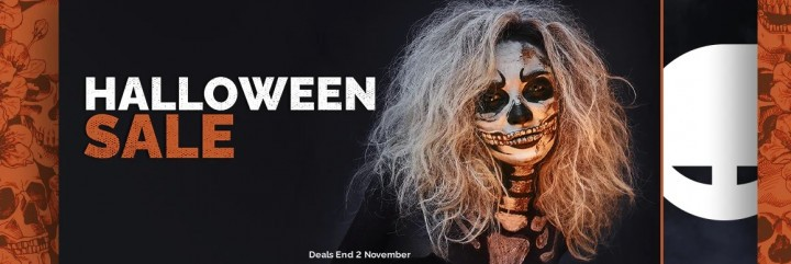 Halloweenowa wyprzedaż w GreenManGaming