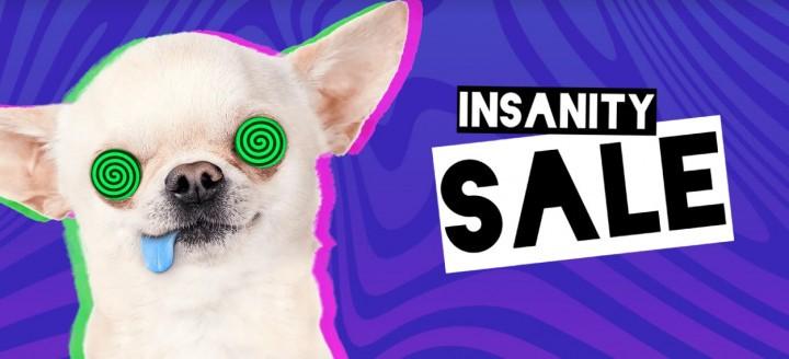 Wyprzedaż Insanity Sale na Fanatical