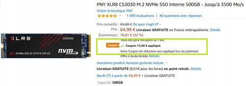 Promocja na PNY XLR8 CS3030