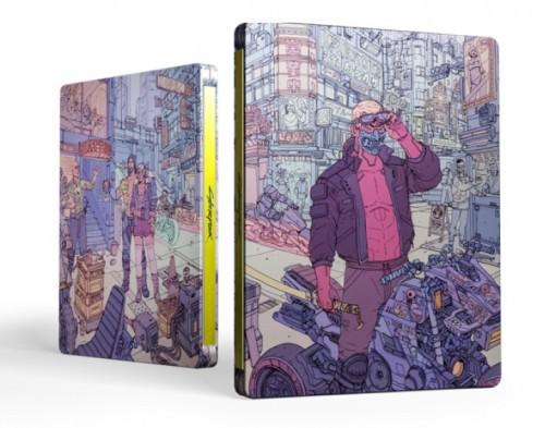 Promocja na Cyberpunk 2077 + steelbook