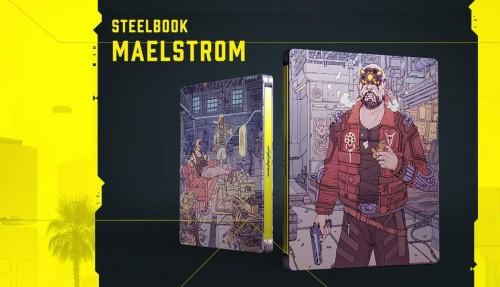 Promocja na steelbook Cyberpunk 2077