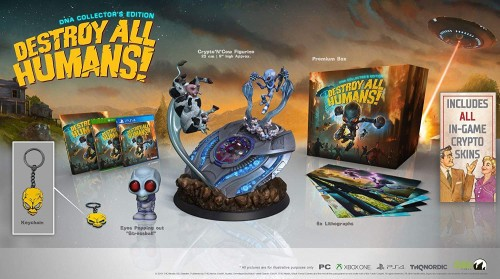 Promocja na Destroy All Humans! DNA Collectors's Edition