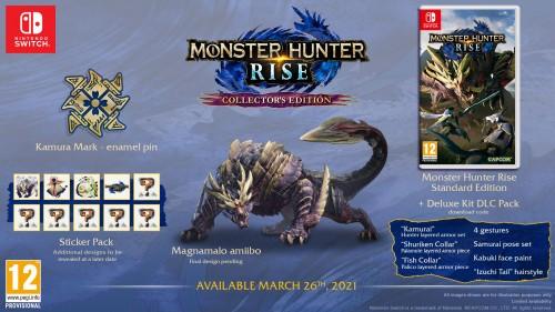 Promocja na Monster Hunter Rise Edycja Kolekcjonerska