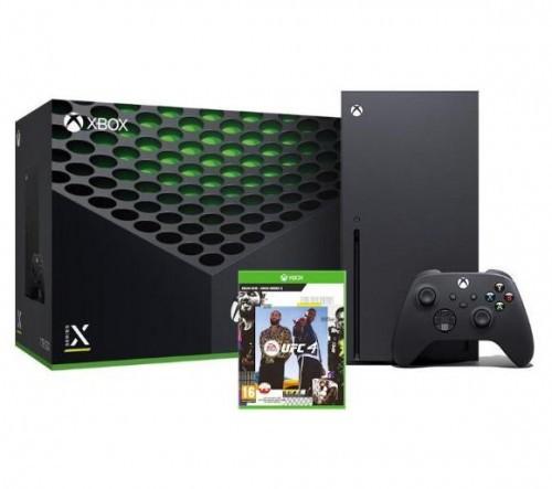 Promocja na Xbox Series X + UFC 4