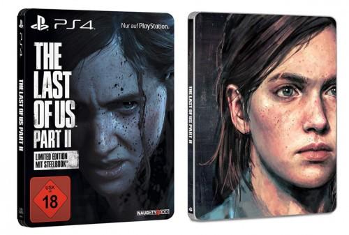 Promocja na The Last of Us Part II Steelbook Edition
