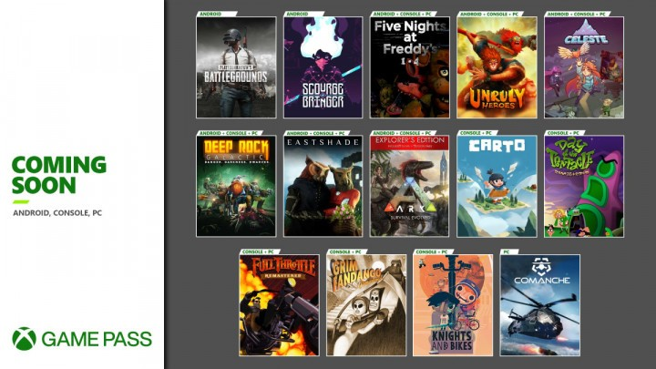 Oferta Xbox Game Pass Listopad 2020