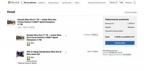 FIFA 21 gratis przy zakupie Xbox One S