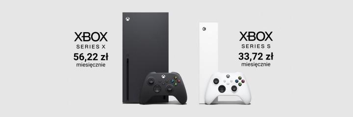 Xbox Series na raty
