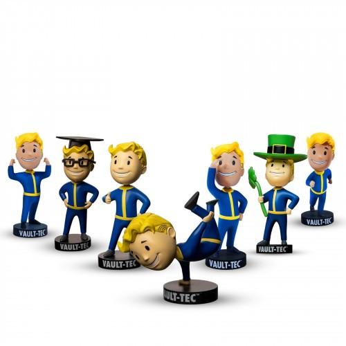 Promocja na Fallout Vault Boy S.P.E.C.I.A.L. Bobblehead - Complete Set of 7