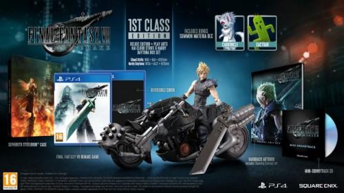 Promocja na Edycję Kolekcjonerską Final Fantasy VII Remake