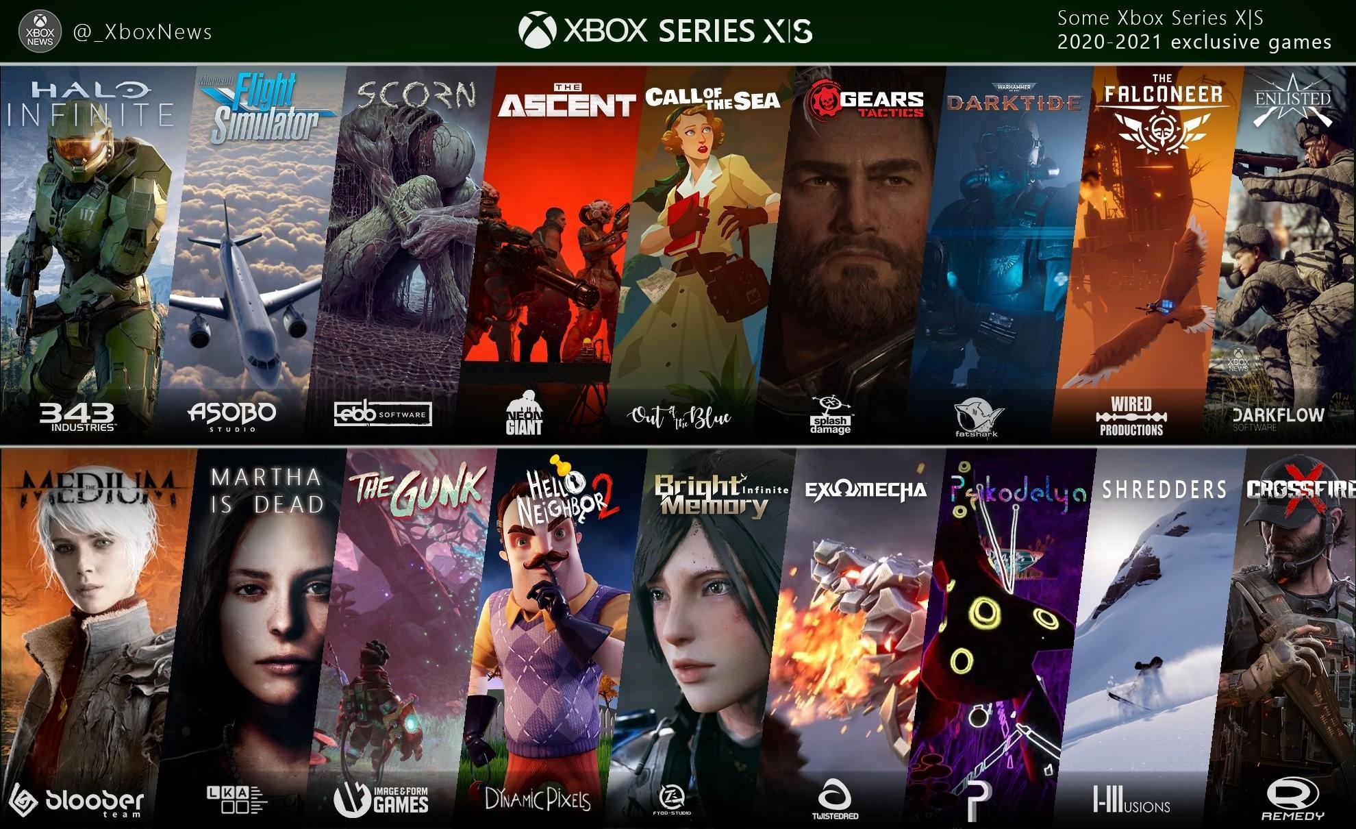Gry ekskluzywne Xbox Series X|S