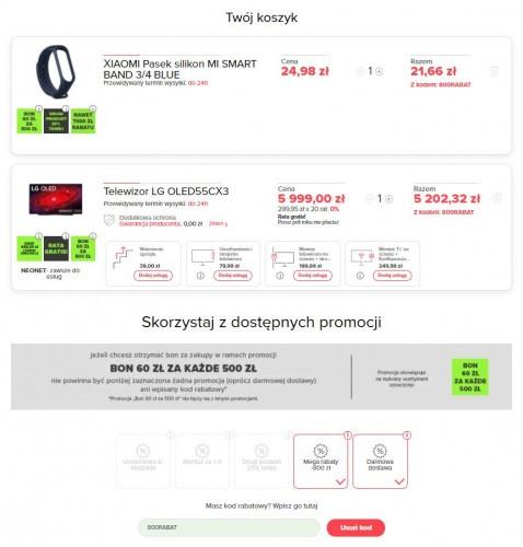 Promocja na OLED55CX