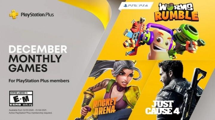 Grudzień 2020 w PlayStation Plus