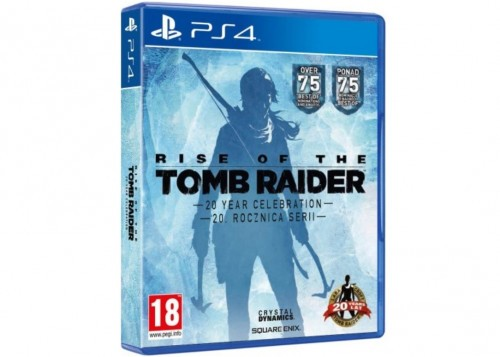 Promocja na Rise of the Tomb Raider: 20 Year Celebration PS4