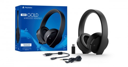 Promocja na SONY PS4 Gold/Black Wireless Headset