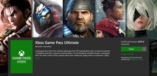 Promocja na Xbox Game Pass Ultimate