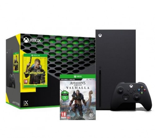 Promocja na Xbox Series X + Cyberpunk 2077 + Assassin's Creed Valhalla
