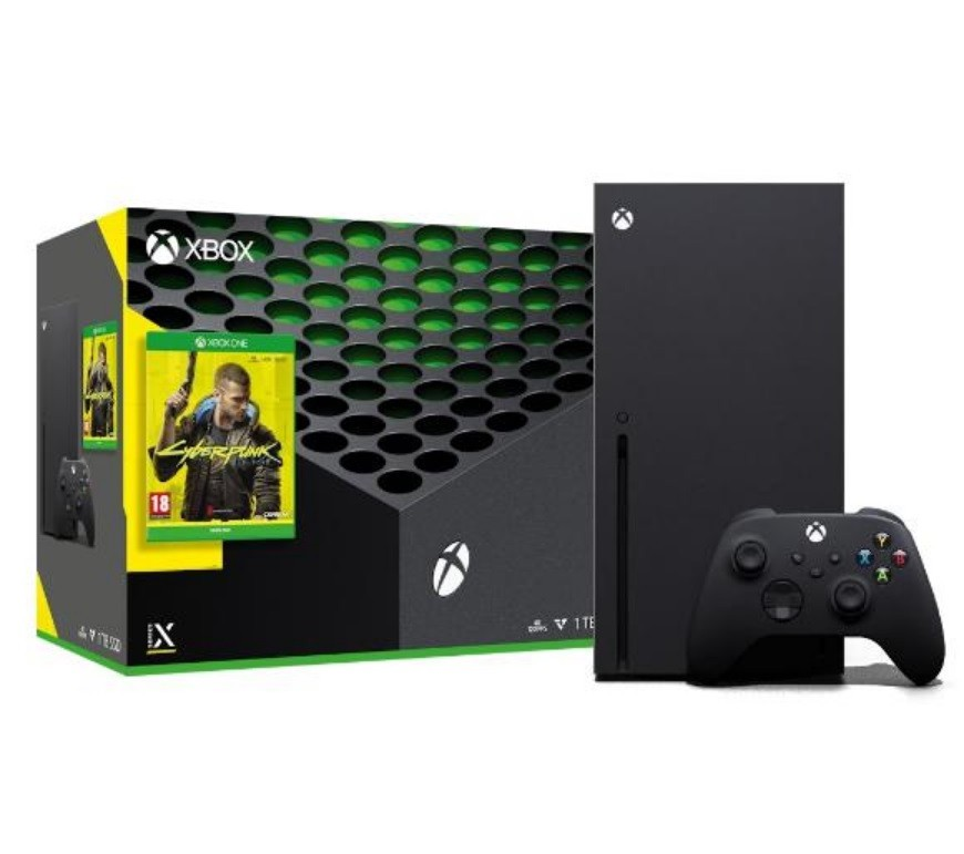 Promocja na Xbox Series X + Cyberpunk 2077