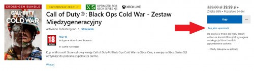 Promocja na Call of Duty Black Ops Cold War