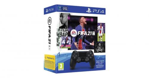 Promocja na Sony DualShock 4 v2 (czarny) + FIFA 21