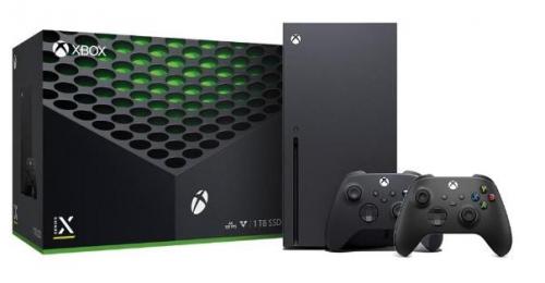 Promocja na Xbox Series X + 2 pady